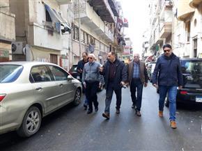محافظ بورسعيد: فتح الجراجات المغلقة أسفل العمارات ببورفؤاد وغرامة للمخالفين | صور