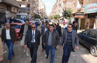 محافظ الإسماعيلية يتفقد استكمال مشروع الصرف الصحي بشارع الدقهلية | صور