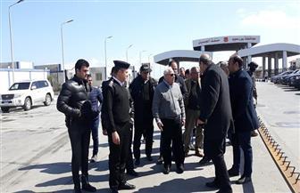 محافظ بورسعيد يشهد بدء تشغيل منفذ الجميل الجمركي بموقعه الجديد | صور