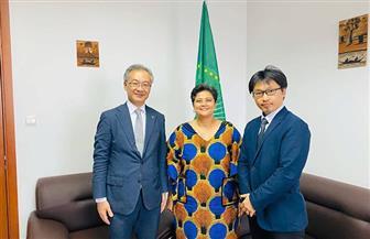 الاتحاد الإفريقي يبحث مع سفير اليابان شراكة التيكاد والمحكمة الجنائية الدولية