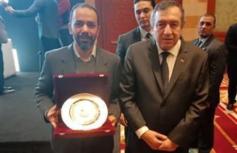تسليم الجوائز للفائزين بجائزة أفضل كتاب في الوطن العربي عن مؤسسة محمد بن فهد