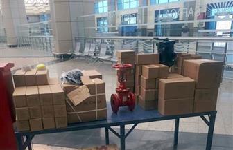 إحباط تهريب عدد من أجهزة إنذار حريق ومواتير رفع مياه في ميناء سفاجا| صور