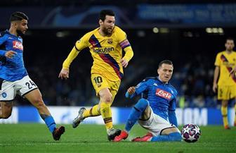"""مدرب نابولي: سنستخدم """"الخوذات والدروع"""" عند اللعب في برشلونة"""