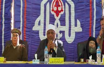 لجنة المصالحات بالأزهر تنهي خصومة ثأرية بسوهاج  صور