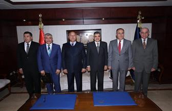 توقيع عقد الالتزام الخاص بالمحطة متعددة الأغراض بميناء الإسكندرية بحضور وزير النقل| صور