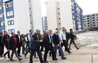 محافظ بورسعيد: إنجاز 65% من ترفيق المرحلة الثالثة بالإسكان الاجتماعي| صور