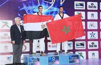 سيف عيسى يكشف صعوبة تأهله إلى الأولمبياد من التصفيات الإفريقية| صور