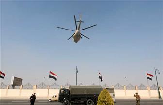 وصول جثمان الرئيس الراحل مبارك إلى مثواه الأخير بمقابر العائلة بطائرة مروحية