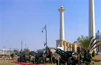 بطلقات المدفعية.. تشييع الجنازة العسكرية لمبارك.. والرئيس السيسي يقدم التعازي لأسرته