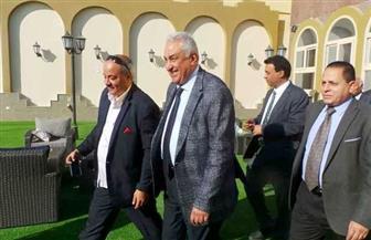سامح عاشور يفتتح نادي محامي أسوان عقب تطويره