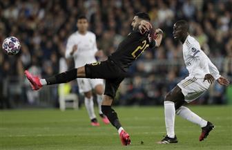 نصف ساعة سلبية بين ريال مدريد ومانشستر سيتى بدورى أبطال أوروبا