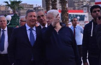 بعثة الترجي التونسي تتفقد منشآت نادي الزمالك | صور