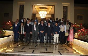فودة يستقبل وفد رؤساء المحاكم الدستورية والعليا الأفارقة خلال زيارتهم لشرم الشيخ| صور