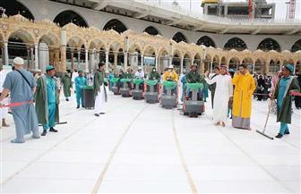 السعودية: غسل وتعقيم المسجد الحرام 4 مرات يوميا لسلامة قاصديه