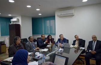 نائب وزير الإسكان للبنية الأساسية يلتقي بعثة البنك الدولي لدعم الجهاز التنظيمي لمياه الشرب والصرف الصحي | صور