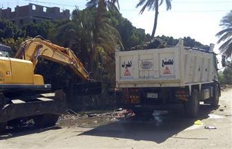 رفع 230 طن مخلفات في 4 مدن ضمن مبادرة قنا نظيفة | صور