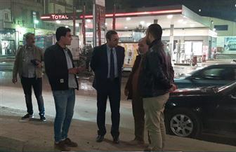 نائب محافظ الغربية يتابع أعمال رصف شارع الجلاء بطنطا المتوقفة منذ 3 سنوات | صور