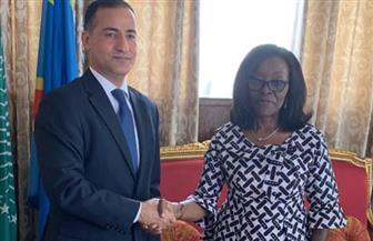 سفير مصر في كينشاسا يلتقي وزيرة خارجية الكونغو الديمقراطية