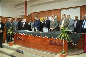 محافظ كفر الشيخ يتفقد بدء مجموعات التقوية بالمدرسة الثانوية الزراعية المشتركة |صور