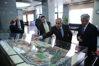 رئيس الاتحاد الدولي للخماسي الحديث يزور الأكاديمية العربية بالإسكندرية |صور