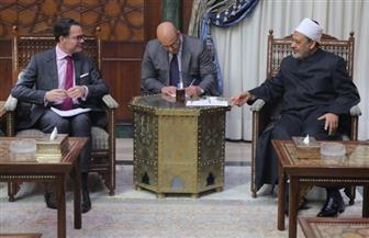 السفير الفرنسي: الأزهر يحمل مكانة محورية عالمية ويمثل الإسلام المعتدل صور