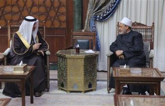 شيخ الأزهر يستقبل سفير البحرين.. ويؤكد متانة العلاقات العلمية والثقافية