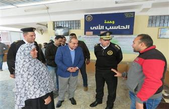 مدير أمن الغربية يتفقد المنشآت الشرطية بزفتى ويوجه بحل شكاوى المواطنين | صور