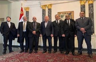 سفارة مصر في فيينا تستقبل المعزين في وفاة مبارك