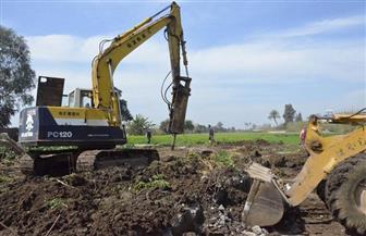 إزالة 77 حالة تعد على الأراضى الزراعية ومنافع النيل في سوهاج