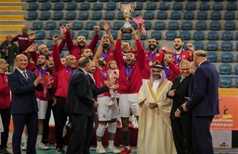 تتويج الأهلي بلقب البطولة العربية للكرة الطائرة | صور