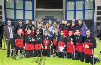 """منتخب مصر يتوج بلقب البطولة العربية للكرة الطائرة """"جلوس"""""""