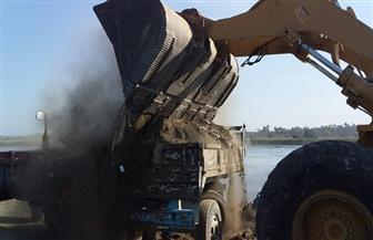 إزالة 774 حالة تعد على نهر النيل ومنافع الري والصرف خلال شهر أبريل