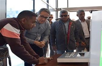 """ضمن مشروعات """"الهوية البصرية"""".. وزير السياحة والآثار يفتتح بوابات معبد الأقصر الجديدة"""