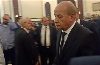 وزير الدفاع والإنتاج الحربي يقدم واجب العزاء في وفاة حسني مبارك