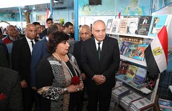 وزيرة الثقافة من قنا: إقامة معارض للكتاب بكافة المحافظات | صور