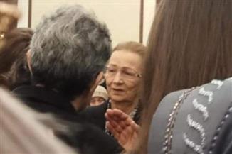 سوزان مبارك تستقبل المعزين فى وفاة الرئيس الراحل حسني مبارك | صور وفيديو