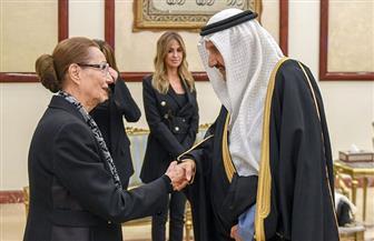 منصور بن متعب ينقل تعازي القيادة السعودية لأسرة حسني مبارك | صور