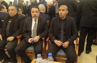 توافد شخصيات عامة وسياسيين ورموز الرياضة لتقديم واجب العزاء في الرئيس الأسبق مبارك | صور