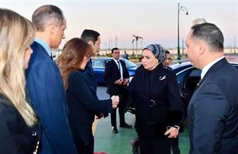قرينة الرئيس السيسي تقدم واجب العزاء لأسرة الرئيس الأسبق محمد حسنى مبارك | صور