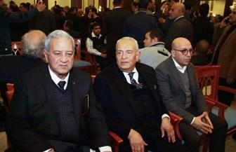 رئيس وقيادات الوفد يقدمون واجب العزاء في وفاة الرئيس الأسبق مبارك | صور
