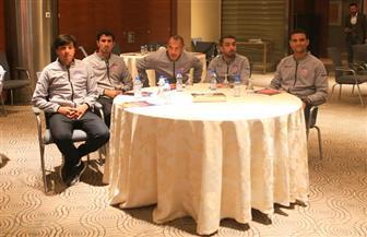 اجتماع تحضيري لحكام الأدوار النهائية في بطولة كأس العرب   صور