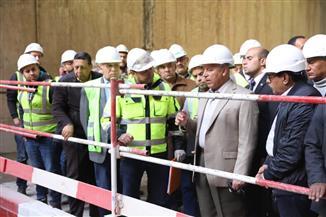 وزير النقل يتابع أعمال تنفيذ محطتي الزمالك والكيت كات بمترو الانفاق | صور
