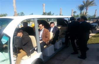 رئيس الوزراء يتفقد مشروع تطوير قرية مجاويش السياحية بالغردقة | صور