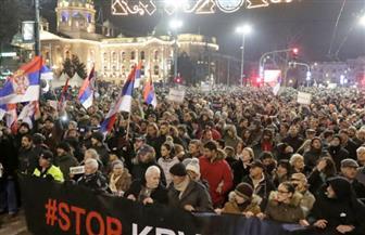 """مظاهرات في مونتينيجرو تدعم الكنيسة الصربية وتندد بقانون """"المجموعات الدينية"""""""