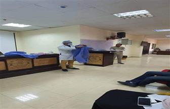 """مستشفى أسوان الجامعي ينظم ندوة عن كيفية الوقاية من """"كورونا"""""""