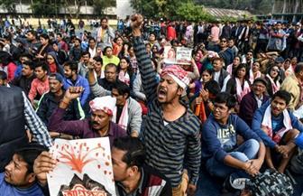 حظر تجوال بشمال الهند بعد مقتل 42 في احتجاجات على قانون المواطنة