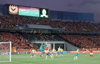 الشوط الأول: التعادل السلبي يسيطر على مباراة الأهلي وصن داونز