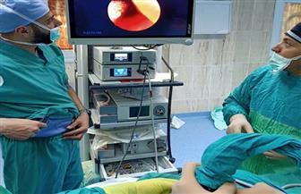 إجراء جراحة دقيقة لطفلة 3 أيام بمستشفى طور سيناء |صور