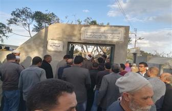 تشييع جثمان المفكر محمد عمارة بقرية صروة بمركز قلين كفرالشيخ | صور