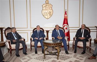 وزير الداخلية يصل تونس للمشاركة  في أعمال الدورة 37 لمجلس وزراء الداخلية العرب|صور